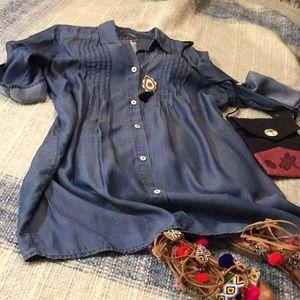Dress - Tommy Bahama - Tencil Denim Coverup - M